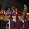 Estreno de nuevas faldas para la procesión del Lunes Santo de la Cofradía