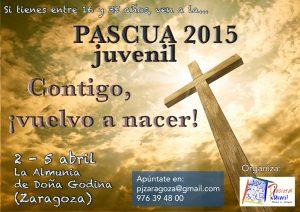 Cartel Pascua juvenil 2015