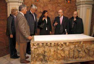 vistia cripta de Santa Engracia/ayto