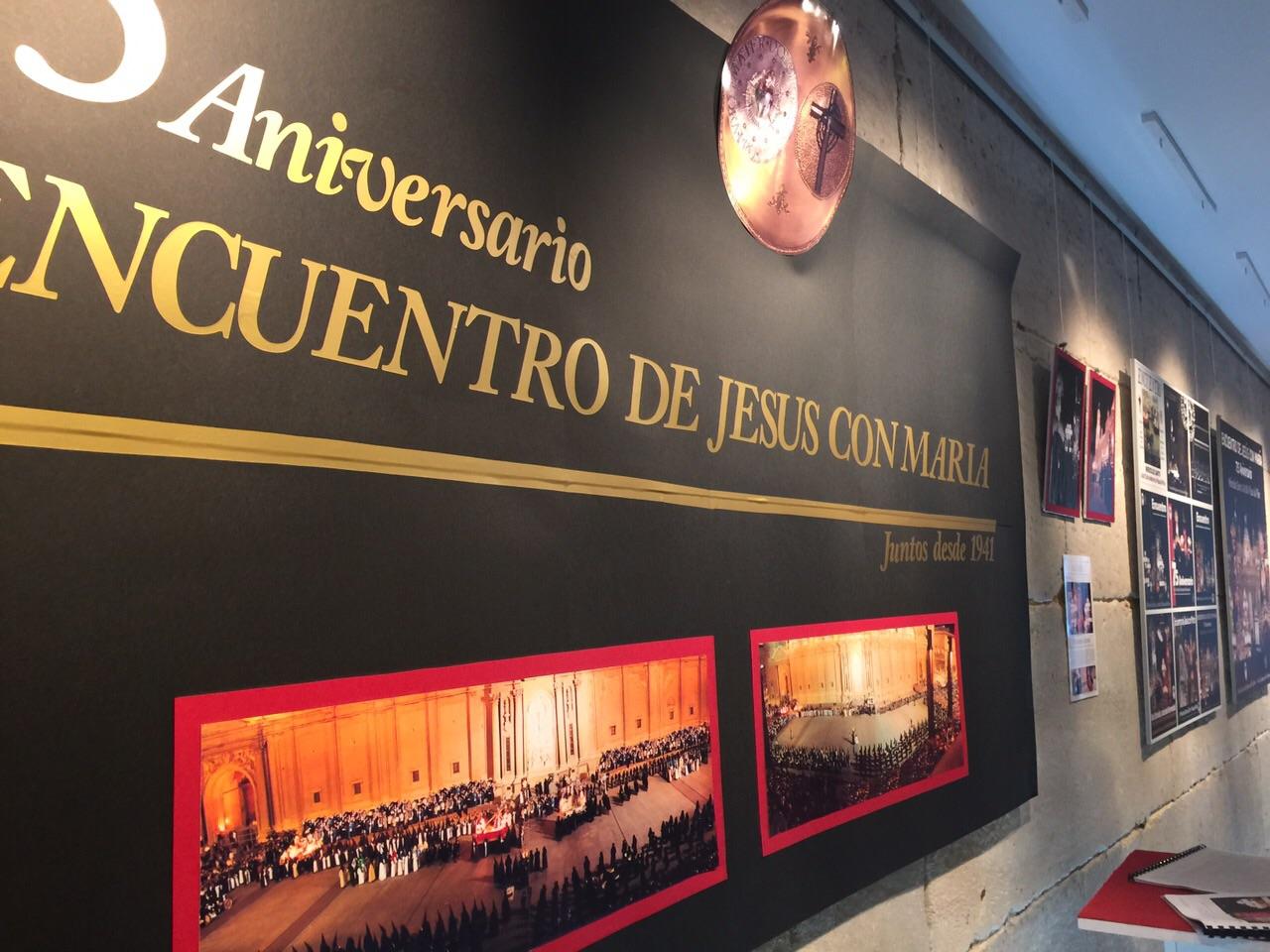 """Inauguración de la Exposición """"75 años de Encuentro"""""""