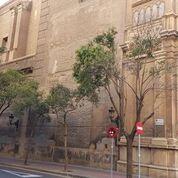 Obras en las fachadas de Santa Engracia