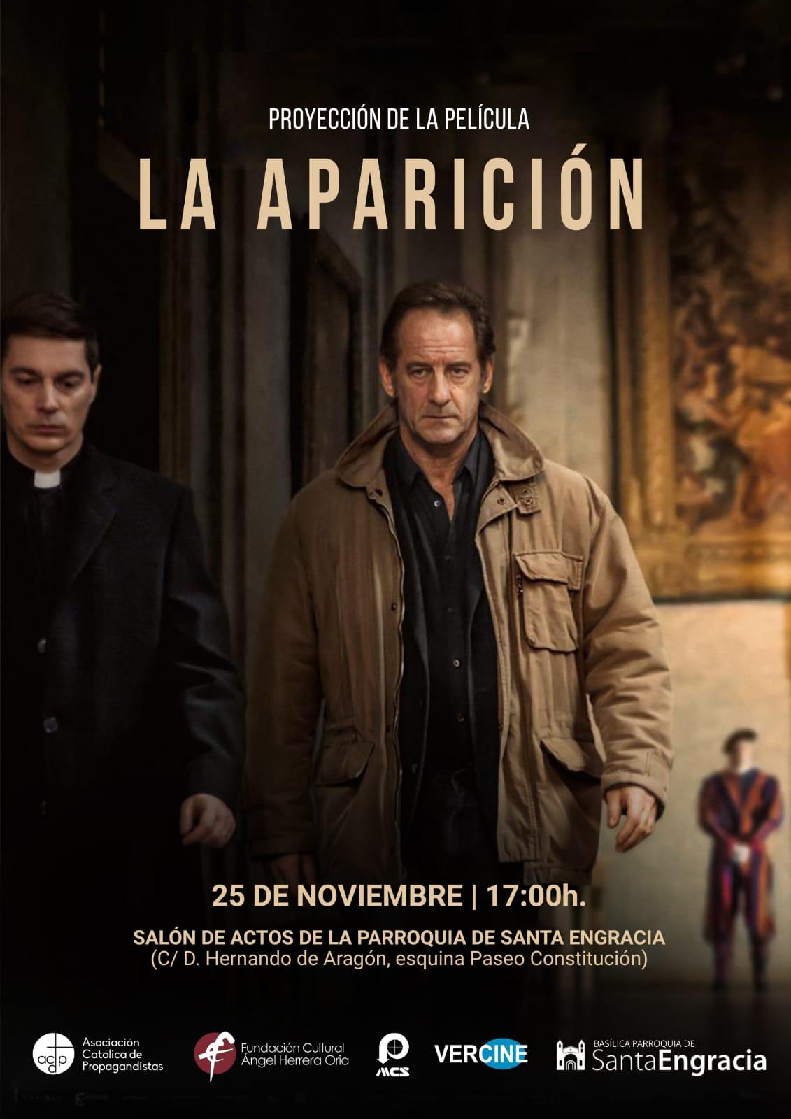 """Tardes de cine: """"La Aparición"""""""