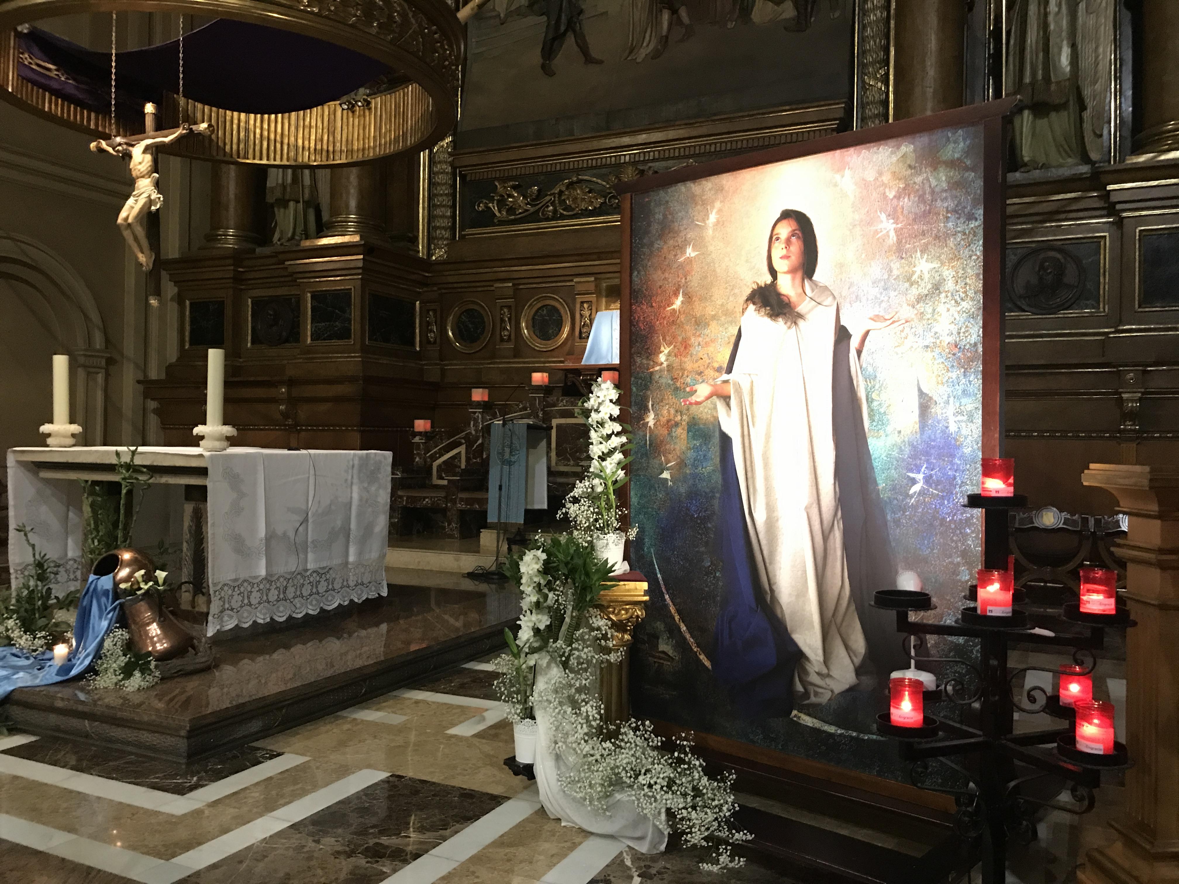 Vigilia diocesana de la Inmaculada en Santa Engracia