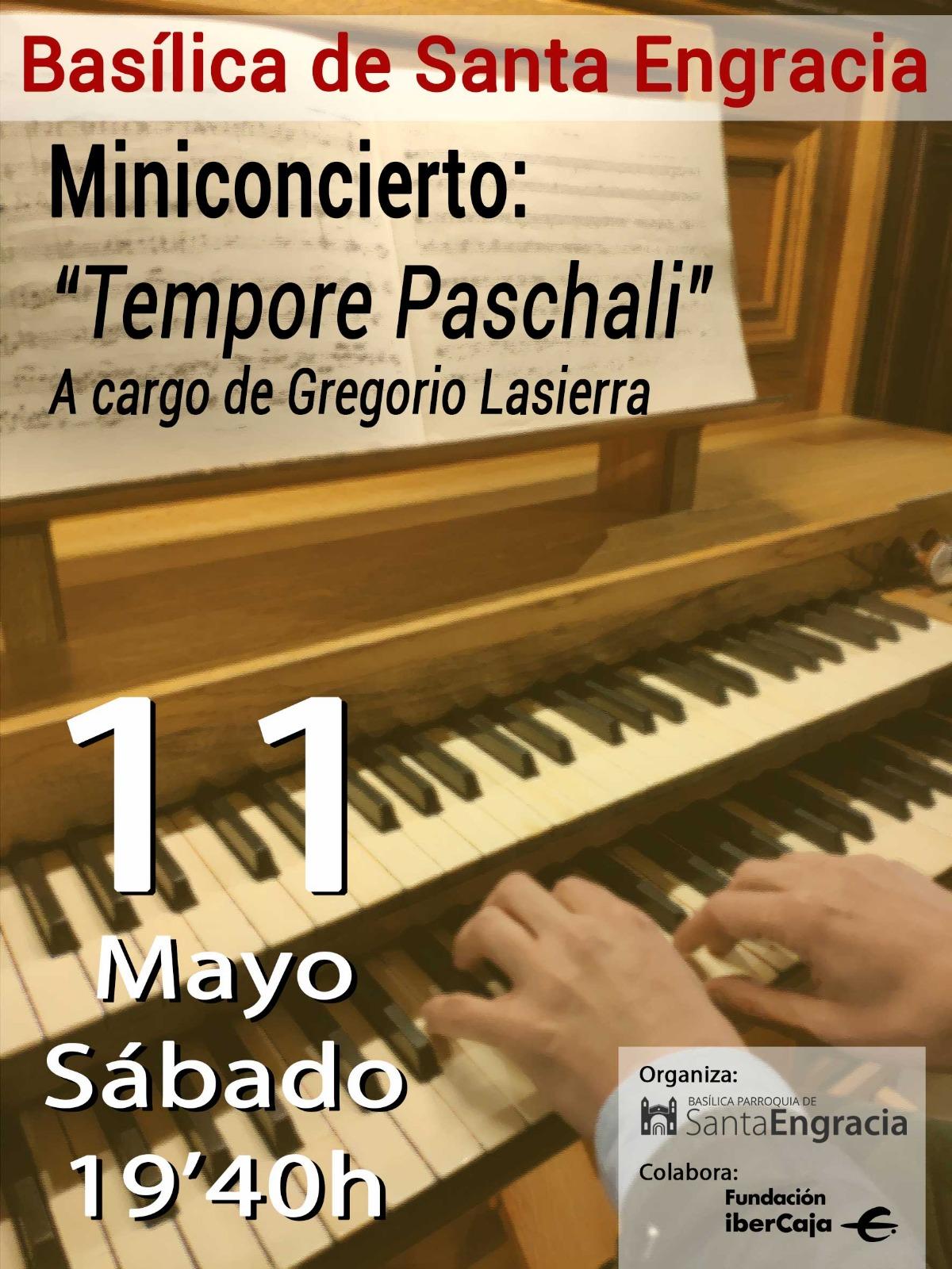Hoy Miniconcierto de D. Gregorio Lasierra